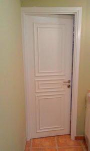 Puerta de alta seguridad para habitación de panico