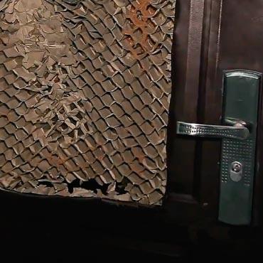puerta de seguridad falsa