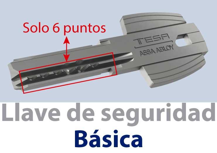 Llave de seguridad basica